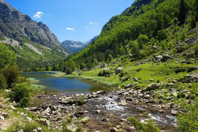 Parco nazionale di Aiguestortes fotografia stock libera da diritti