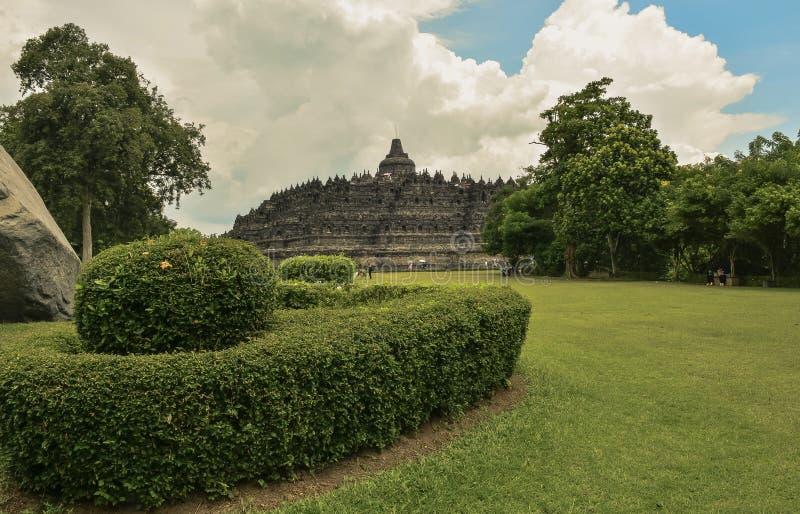 Parco nazionale di Borobudur fotografia stock