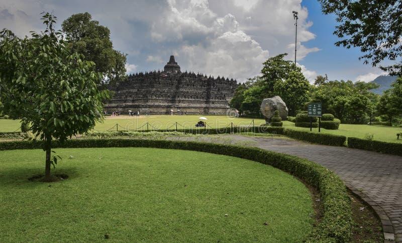 Parco nazionale di Borobudur immagini stock