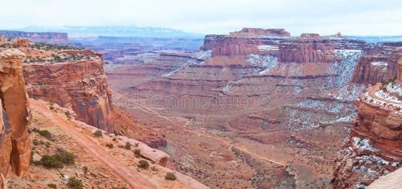 Download Parco Nazionale Di Canyonlands Nell'inverno Immagine Stock - Immagine di deep, roccia: 30826525