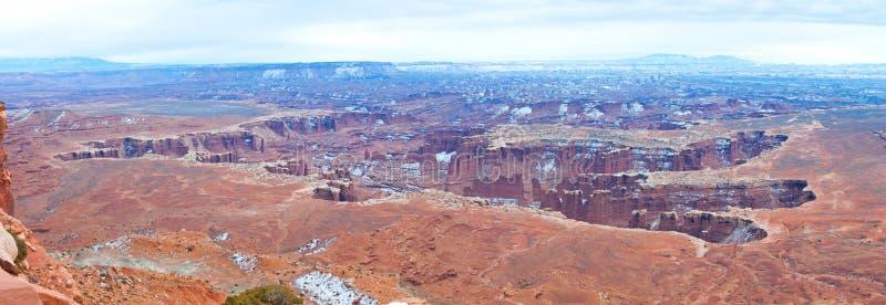 Download Parco Nazionale Di Canyonlands Nell'inverno Fotografia Stock - Immagine di inverno, astonishing: 30826604