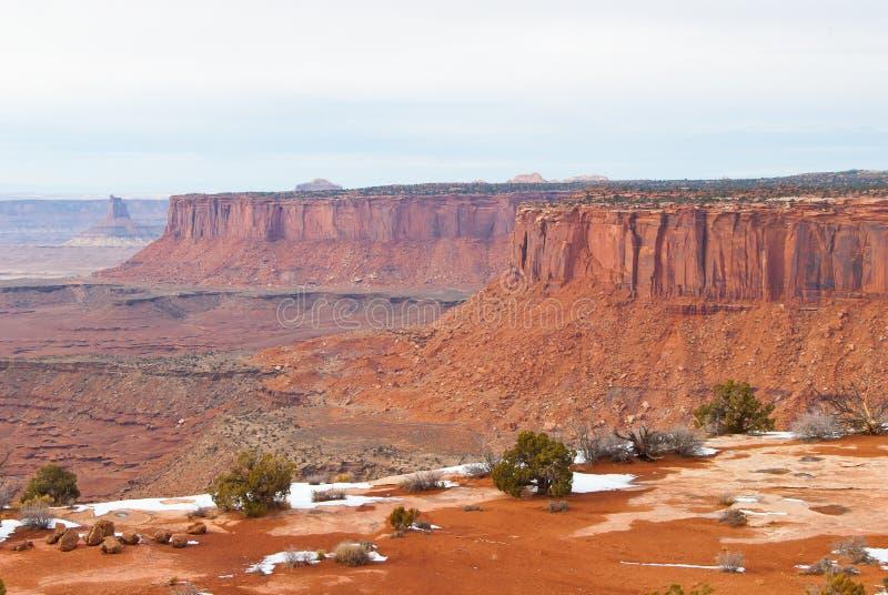 Download Parco Nazionale Di Canyonlands Nell'inverno Fotografia Stock - Immagine di utah, paesaggio: 30826612