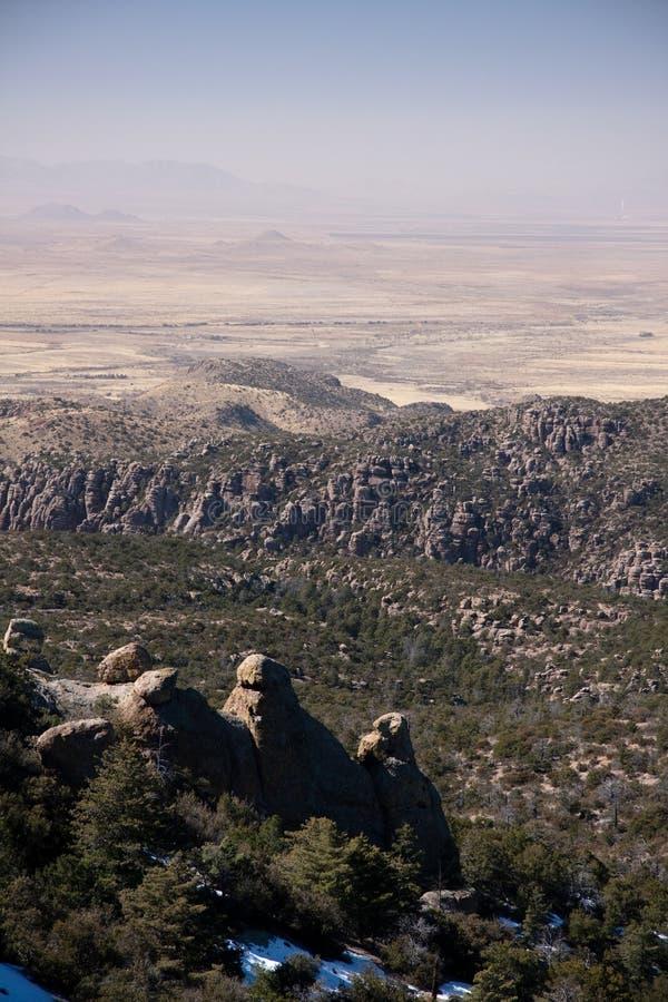 Parco nazionale di Chirikahua in U.S.A. immagini stock