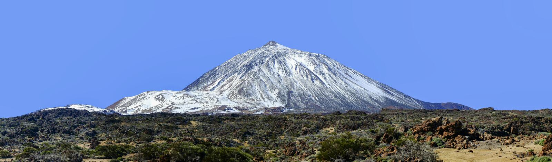 Parco nazionale di EL Teide, Tenerife, isole Canarie, Spagna fotografie stock libere da diritti
