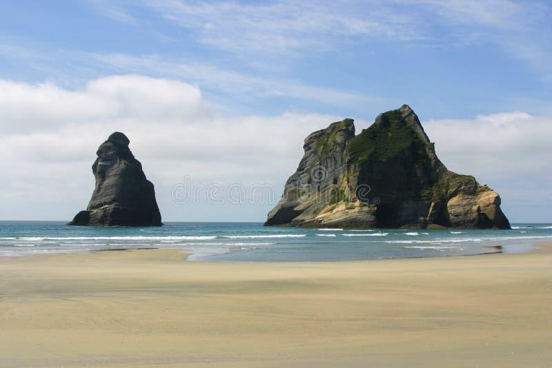 Parco nazionale di Kahurangi, isola del sud della Nuova Zelanda fotografia stock