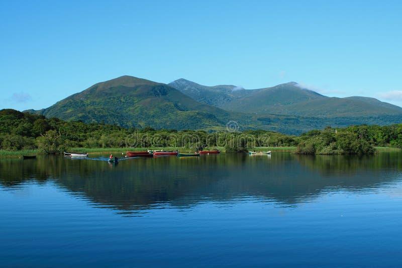 Parco nazionale di Killarney in paese Kerry, Irlanda fotografia stock libera da diritti