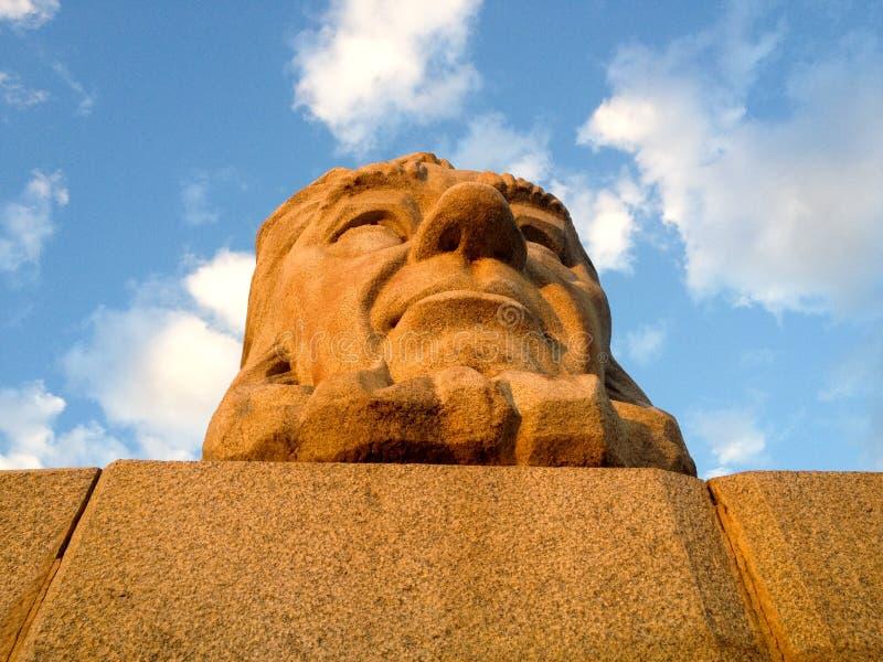 Parco nazionale di Kruger - di Paul Kruger Statue, Sudafrica immagine stock libera da diritti