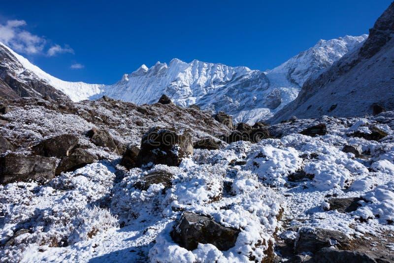 Parco nazionale di Latang, Nepal fotografia stock