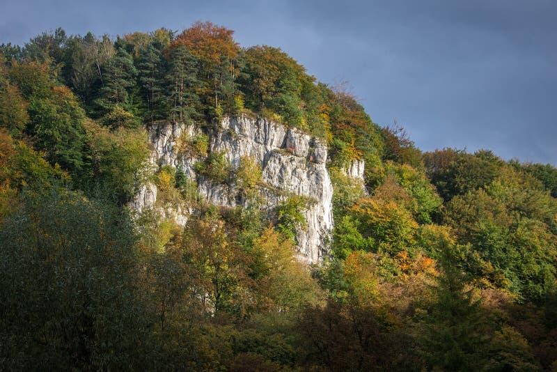 Parco nazionale di Ojcow immagine stock