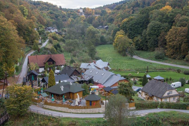 Parco nazionale di Ojcow immagini stock libere da diritti