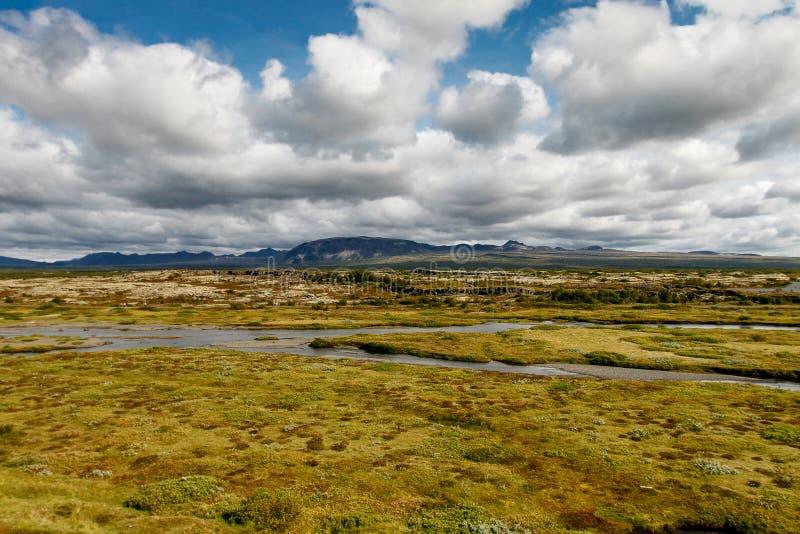 Parco nazionale di Pingvellir fotografia stock