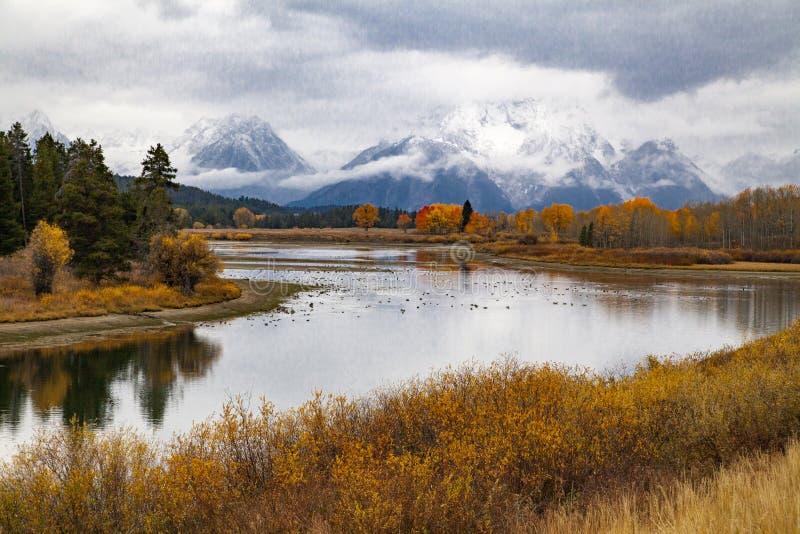 Parco nazionale di Teton fotografia stock libera da diritti