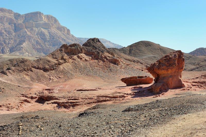 Parco nazionale di Timna immagini stock libere da diritti