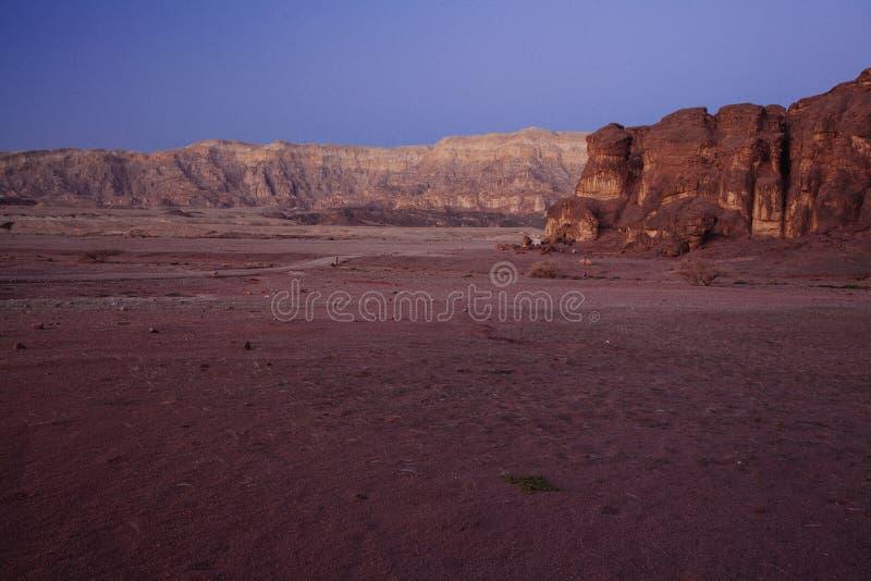 Parco nazionale di Timna fotografia stock