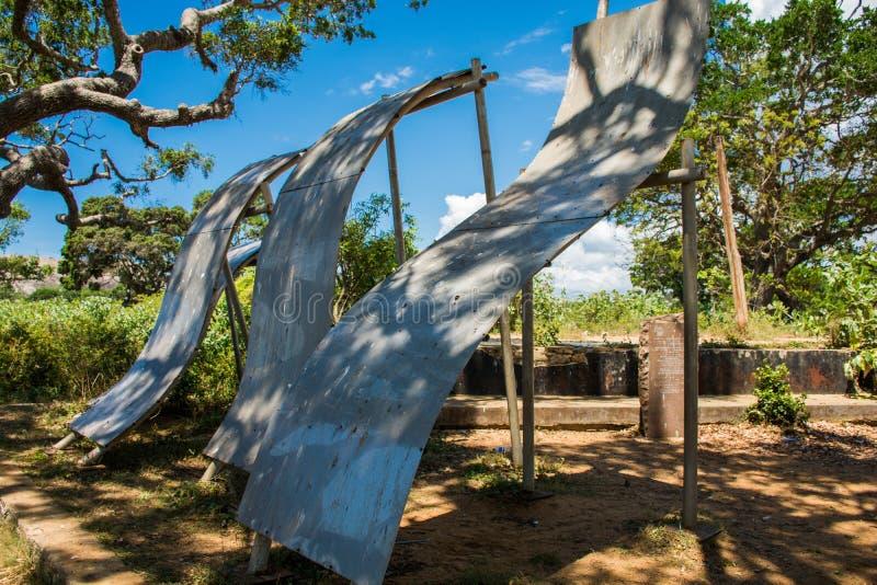 Parco nazionale di Yala nello Sri Lanka immagini stock