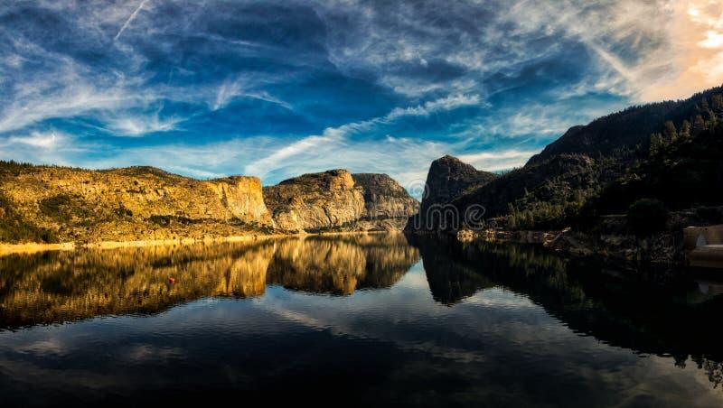 Parco nazionale di Yosemite di Hetch Hetchy fotografie stock libere da diritti