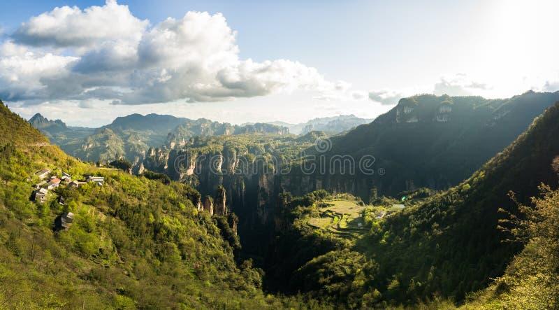 Parco nazionale di Zhangjiajie immagini stock libere da diritti
