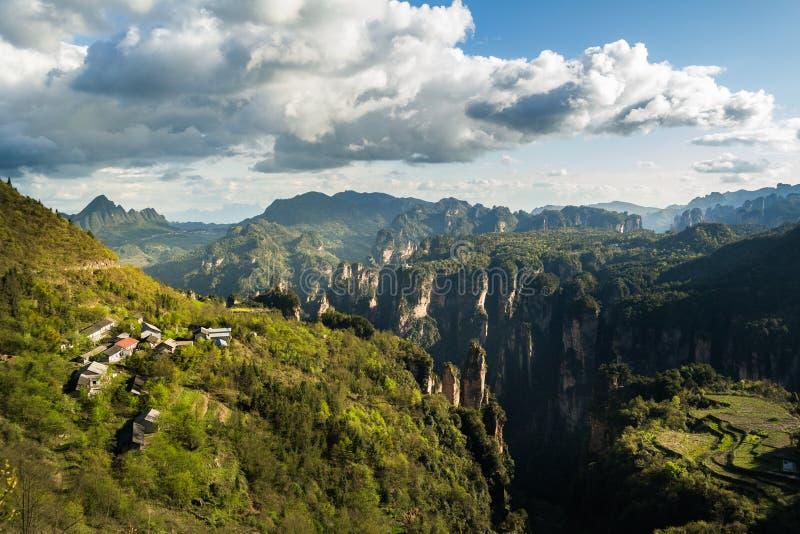 Parco nazionale di Zhangjiajie fotografie stock libere da diritti