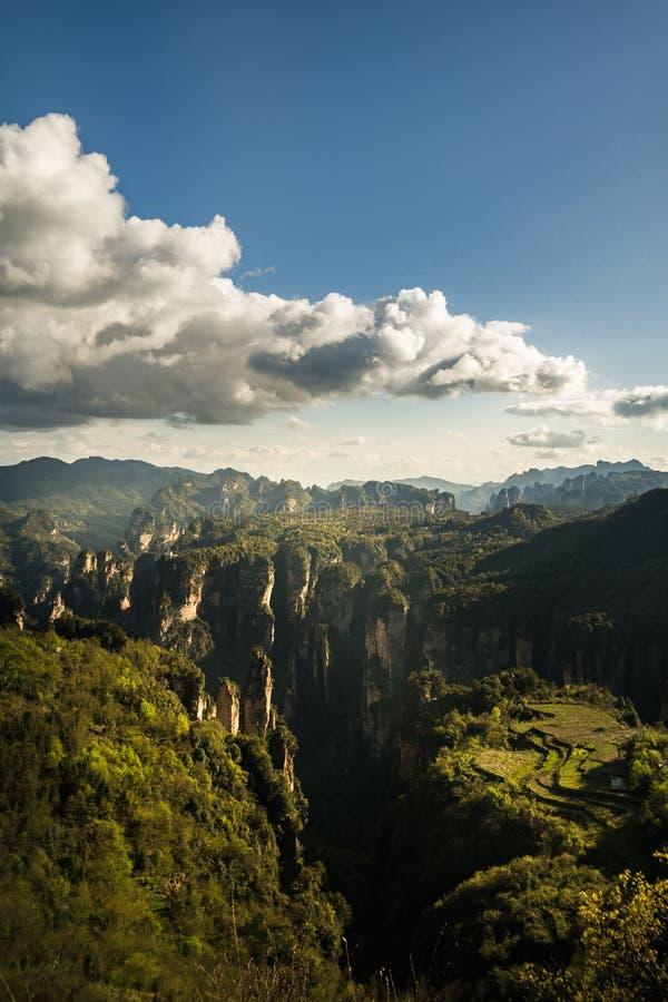 Parco nazionale di Zhangjiajie immagine stock