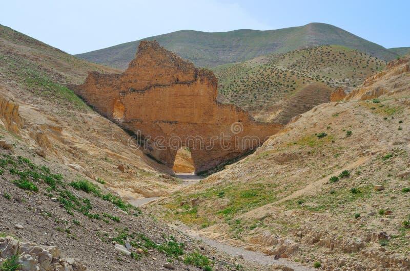 Parco nazionale Israele di Ein Prat fotografie stock