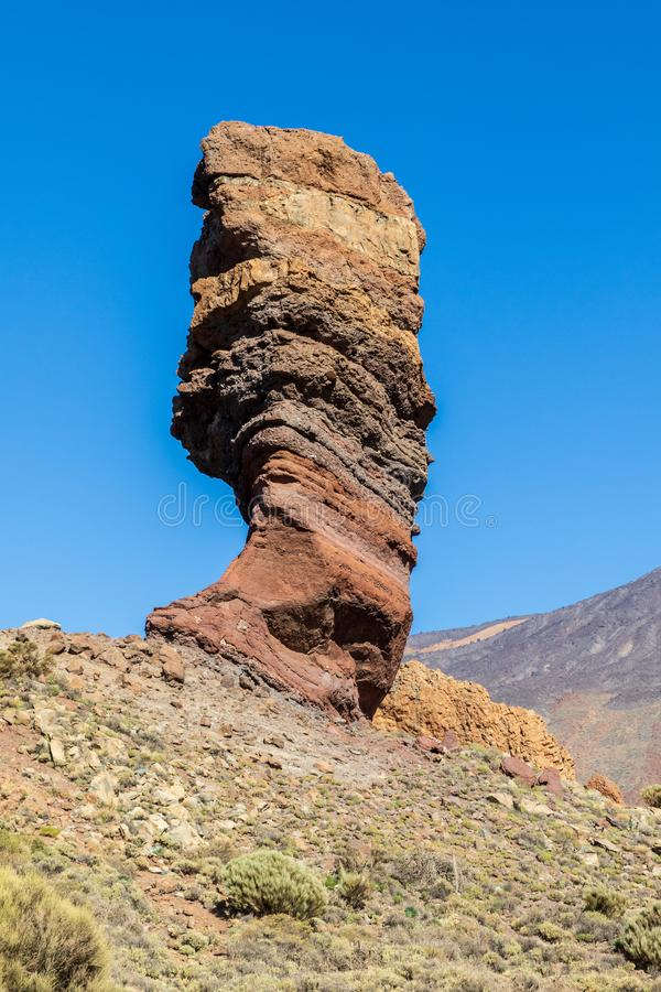 Parco nazionale Mount Teide fotografie stock