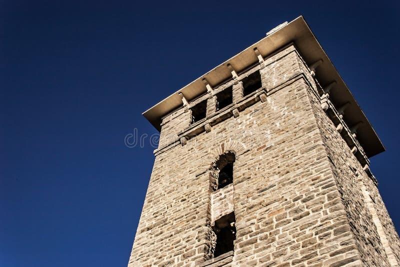 Parco nazionale storico dello stato dell'ha ha Tonka della torre di acqua fotografia stock libera da diritti