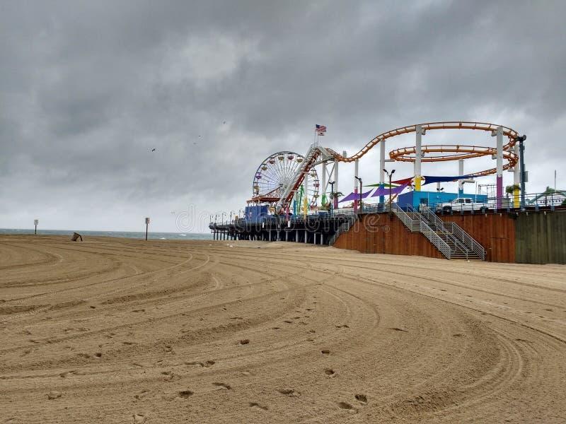 Parco pacifico Santa Monica fotografia stock