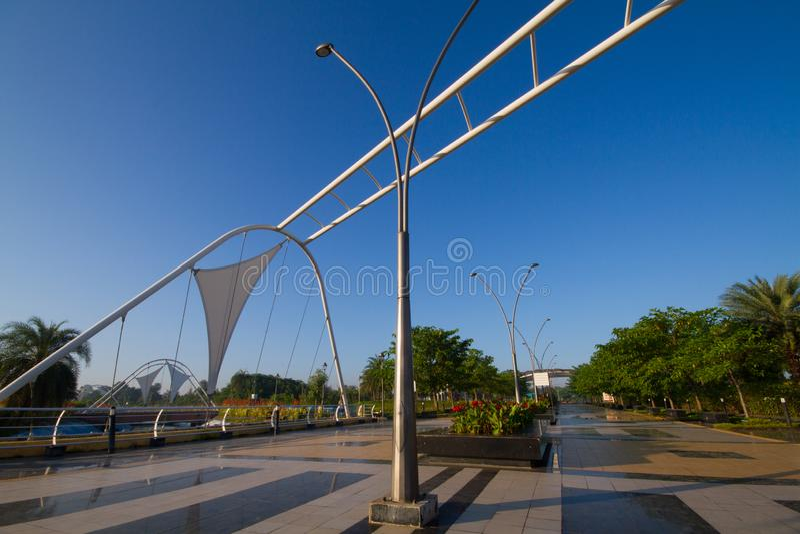 Parco regionale in Indore India fotografie stock libere da diritti