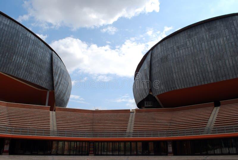 parco roma rome musica della аудитории стоковые изображения rf