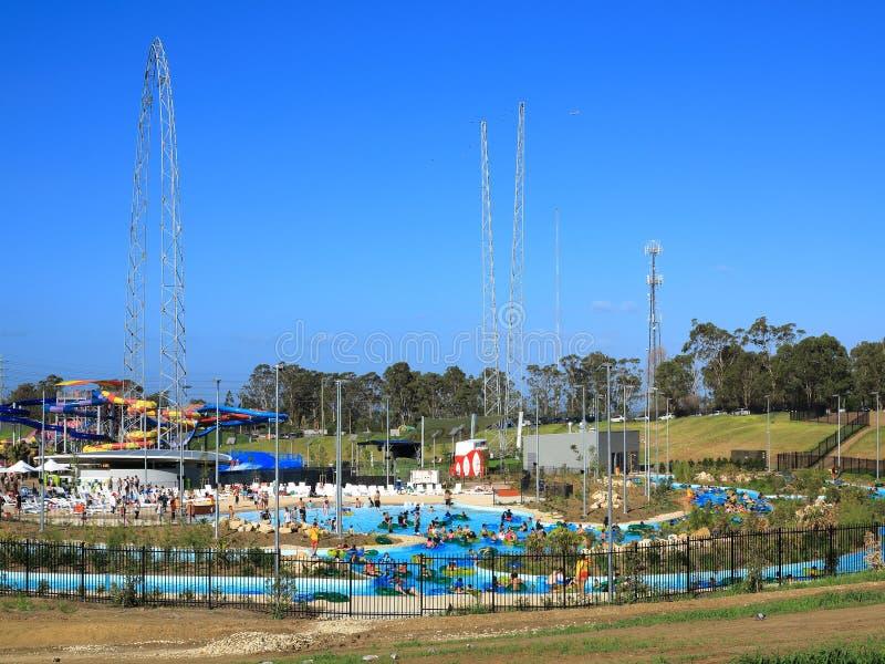 Parco selvaggio bagnato dell'acqua di n aperto immagini stock