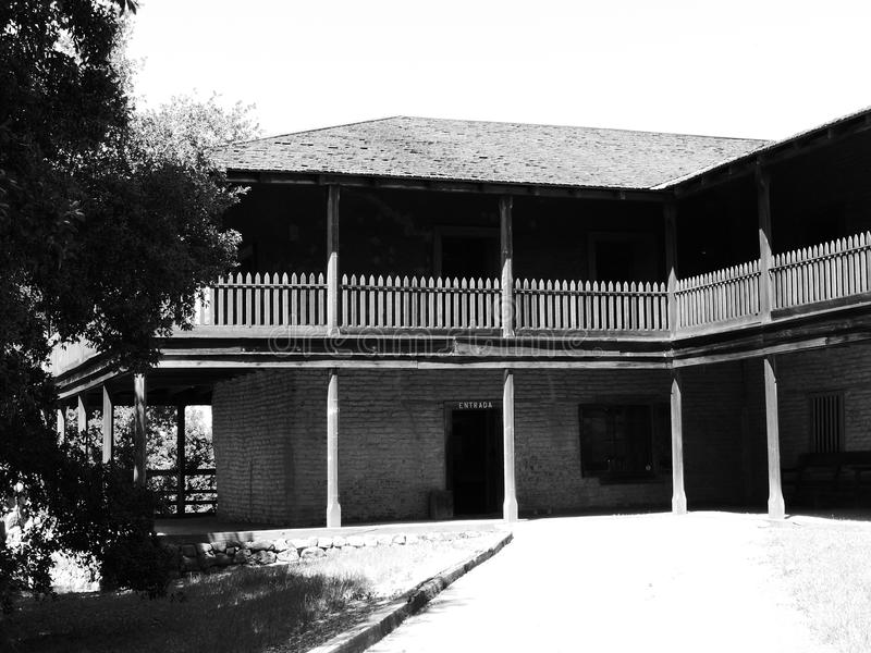Parco storico dello stato di Petaluma Adobe fotografie stock libere da diritti