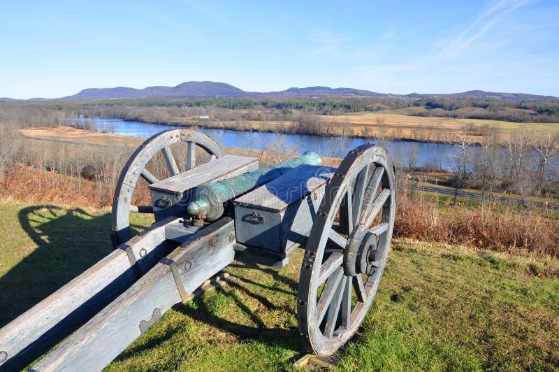 Parco storico nazionale di Saratoga, New York, U.S.A. fotografia stock libera da diritti