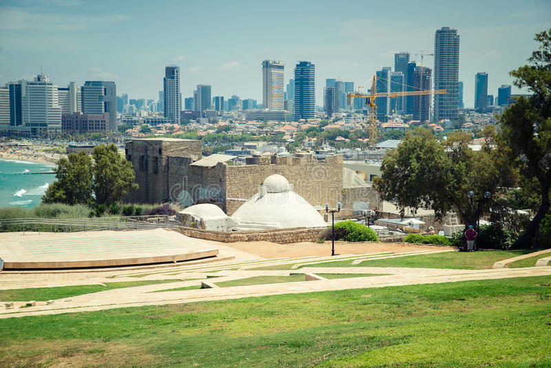 Parco a Tel Aviv fotografie stock