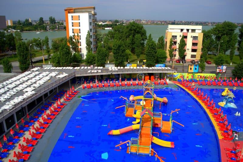 Parco variopinto dell'acqua immagini stock libere da diritti