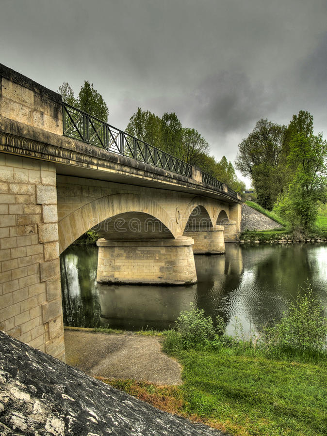 parcoul моста стоковая фотография