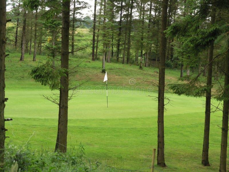 Parcours ouvert de golf photo stock