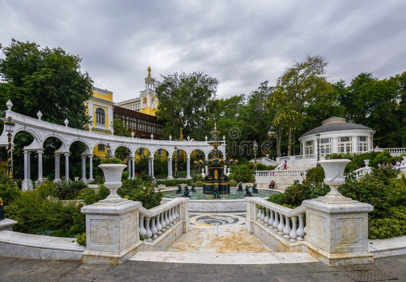 Parcs de Bakou, le jardin du gouverneur photo libre de droits