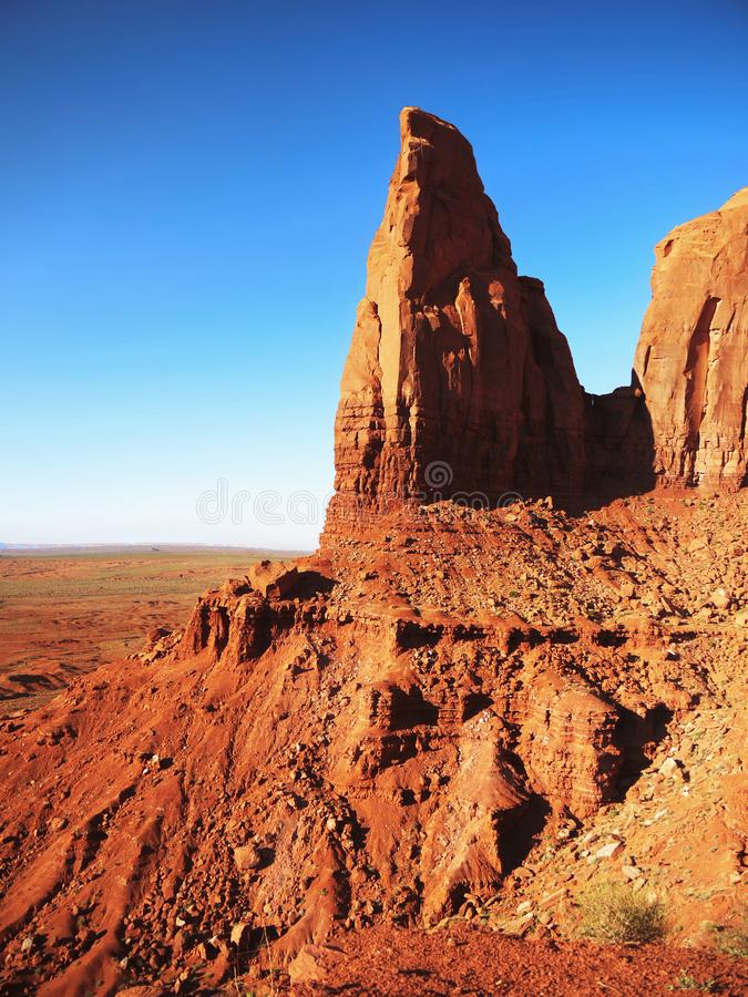Parcs nationaux des USA, plateau du Colorado de vallée de monument , Attraction photo libre de droits