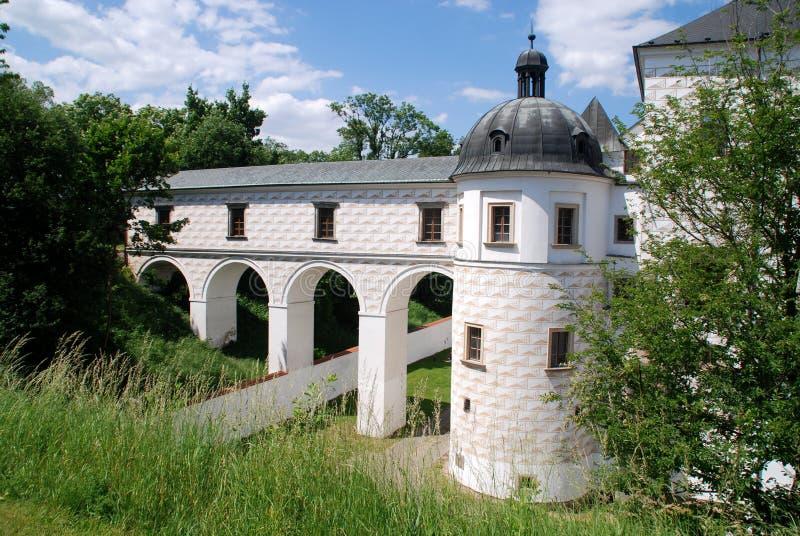 Pardubice, Czech Rep: Pardubice Castle stock photo