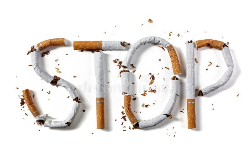 Pare el fumar fotos de archivo