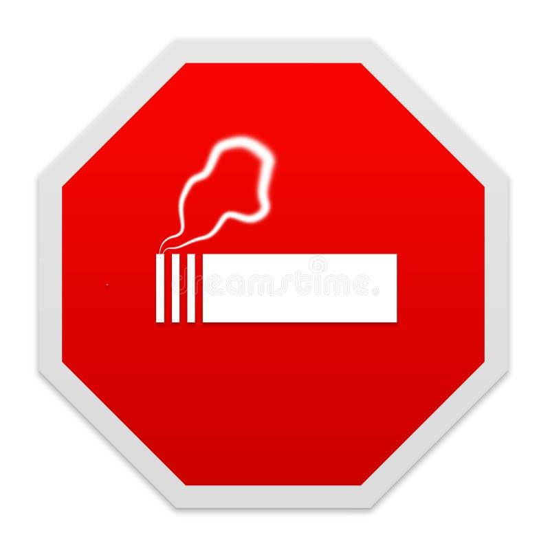 Pare el fumar de la muestra. fotos de archivo