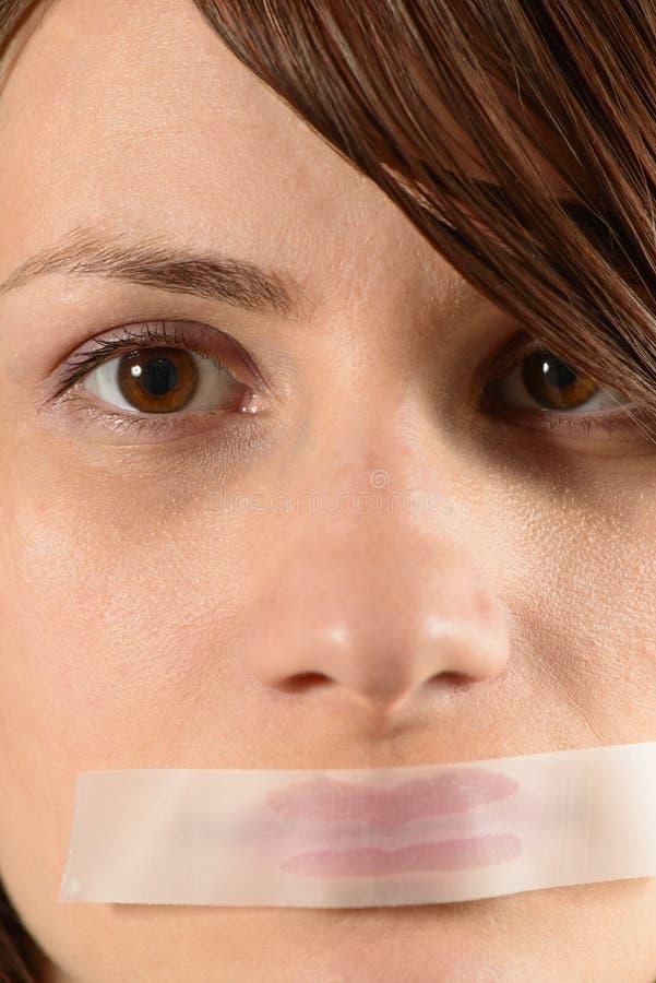 ¡Pare el hablar! imagen de archivo