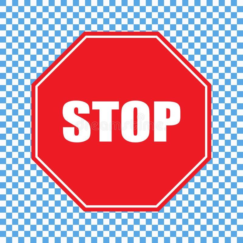 Pare el vector de la muestra libre illustration