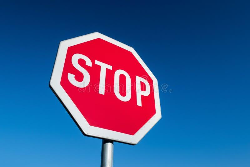 Pare la muestra fotografía de archivo