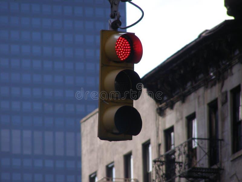 Download Pare a luz imagem de stock. Imagem de york, acidente, manhattan - 540097