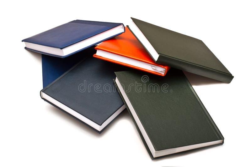 Parecchi libri fotografia stock