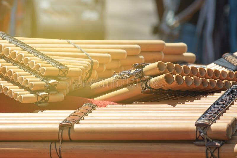 Parecchio il vento etnico ispano del nativo americano scanala nella pentola fotografie stock libere da diritti