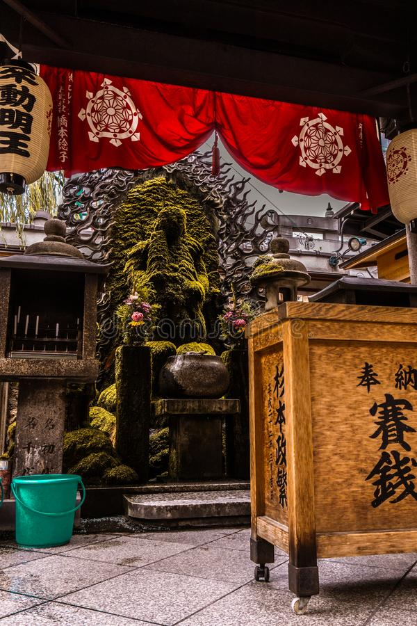 Parece como un templo para dios del ahogamiento imagenes de archivo