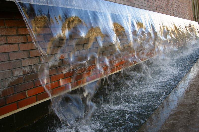 Pared 1 del agua foto de archivo libre de regalías
