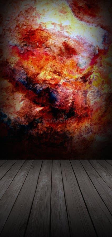 Pared abstracta libre illustration